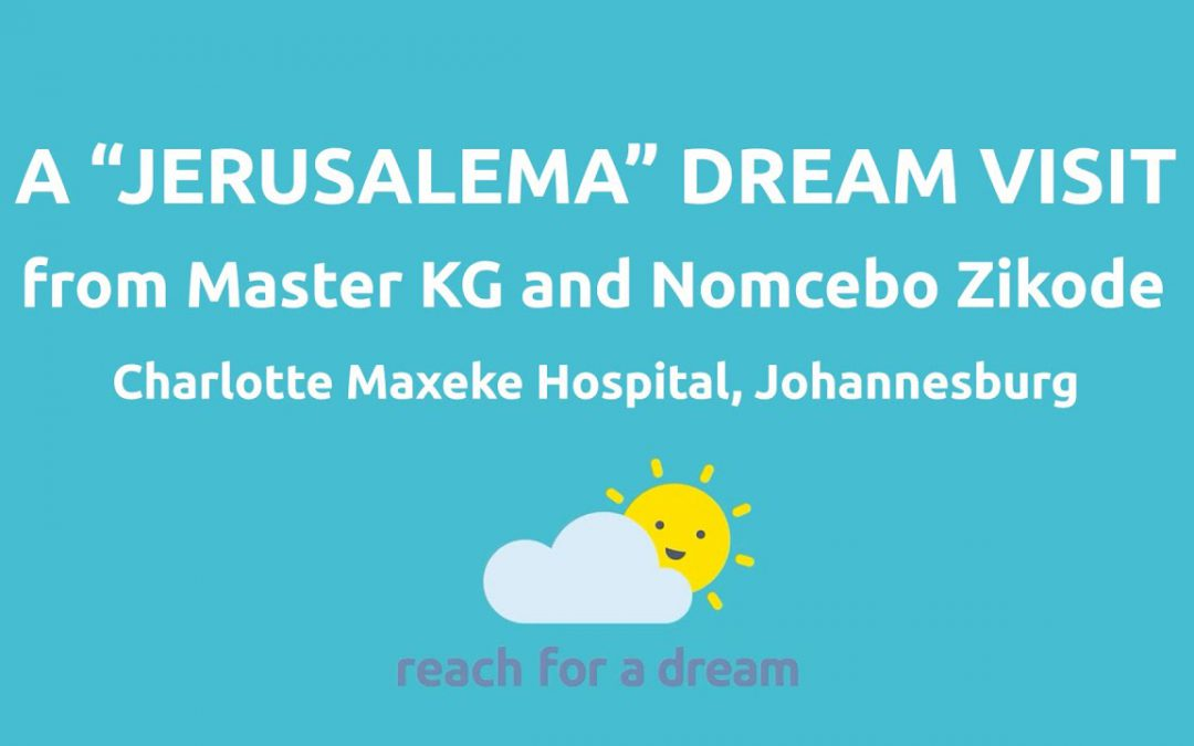 Master KG and Nomcebo pay homage to Reach for a Dream